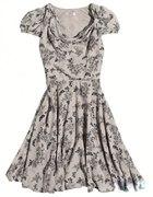 Sukienka w motylki Orsay wiosna 2012...
