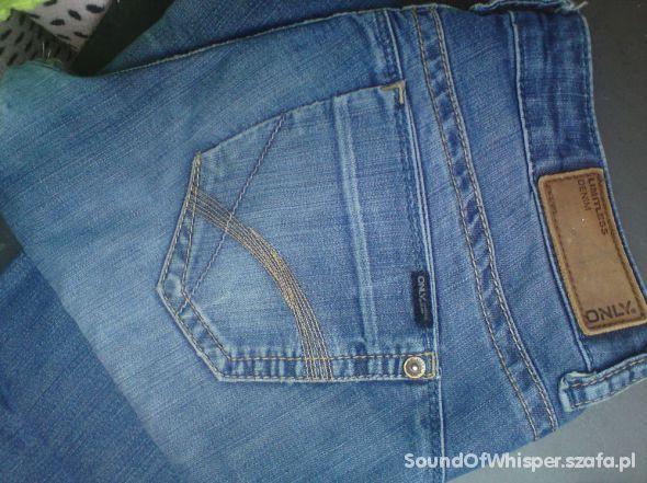 jeansy spodnie ONLY limitless denim 38 40 W31 L34...