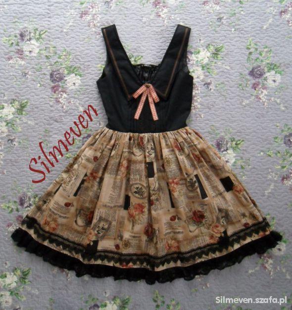 Suknie i sukienki Magic Spell Book classic lolita JSK