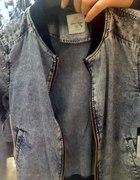 kurtka jeans ćwieki C&A clockhouse...
