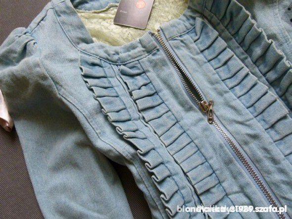 witam poszukuje jeansowej kurteczki 36