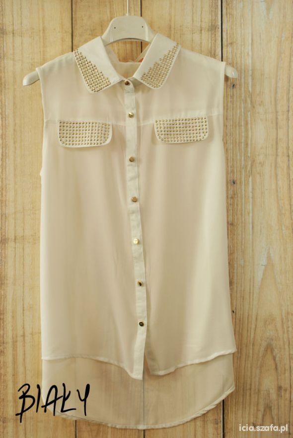 Biała koszula mgiełka