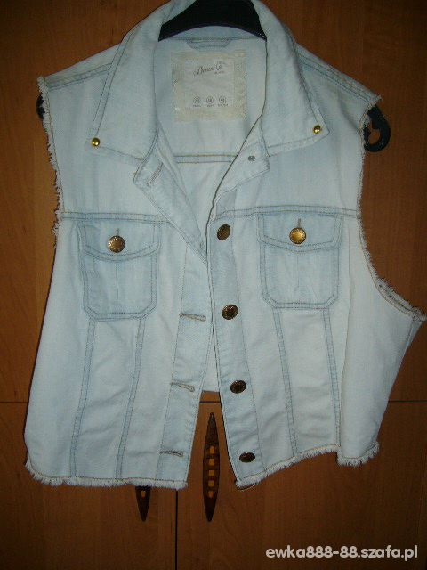 Denim Co jeansowa kamizelka 42 44 46