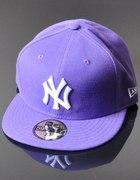 FULL CAP NY fioletowa