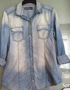 Pilne koszula jeansowa