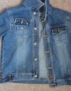 jeansowa katanka kurtka