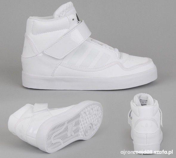 adidas białe za kostkę