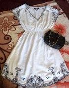 letnia sukienka atmosphere z haftem folk 38 40