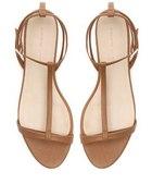 Karmelowe sandały ZARA