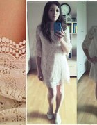 sukienka koronkowa second hand