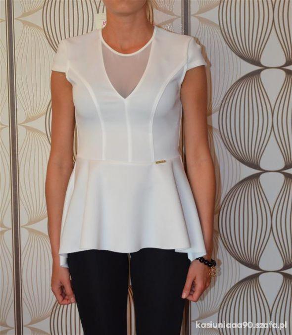 Eleganckie Biała tunika