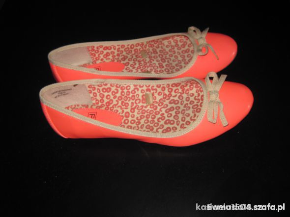 Neonowe balerinki 40