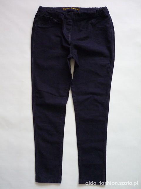NEXT spodnie jeans rurki TREGGINSY black 42