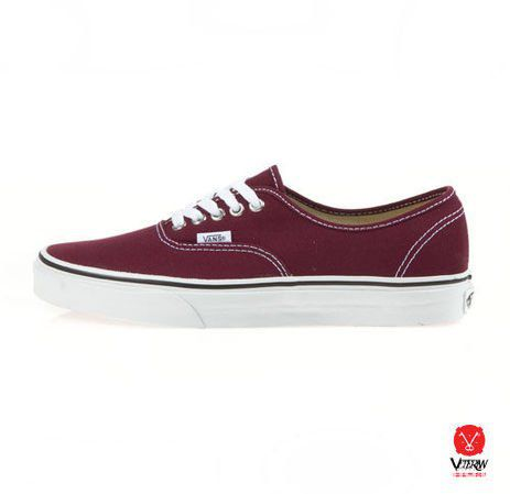 vans authentic bordowe 38