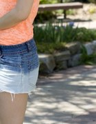 Ombre shorts DIY...