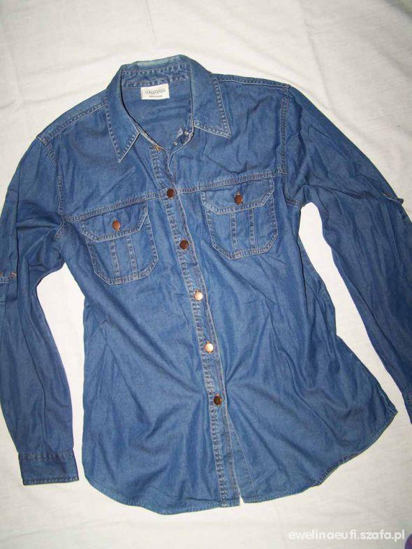 CANADA koszula JEANS Dżinsowa CA 42 L 44 XL