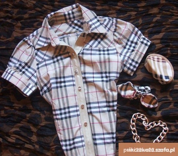 koszula burberry l xl