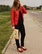 Czarny czerwony