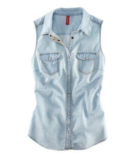 kamizelka jeansowa dżins H&M XS nowa kolekcja