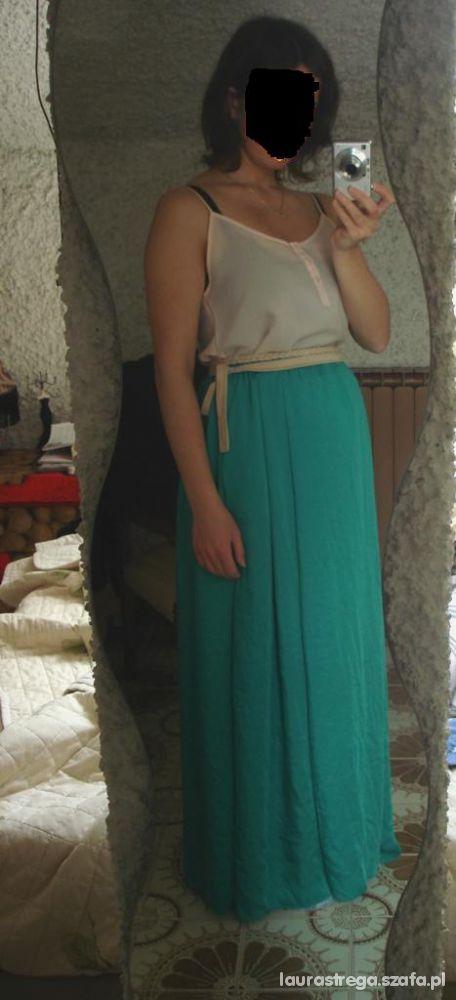 Mój styl spodnica maxi