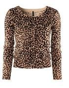 Sweterek panterka H&M...