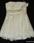 Biała sukienka 40 Biała Ślub Poprawiny Cywilny