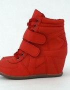 Czerwone buty 35 czy 36
