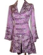 Romantyczny kobiecy płaszcz dla marzycielki