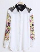 Koszula Floral Koronka Mgiełka...