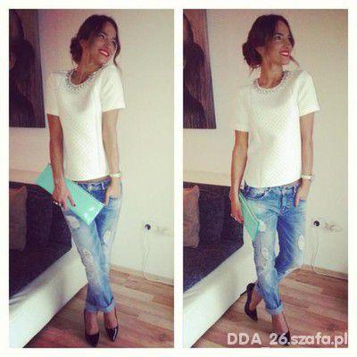 Do pracy jeansowa elegancja