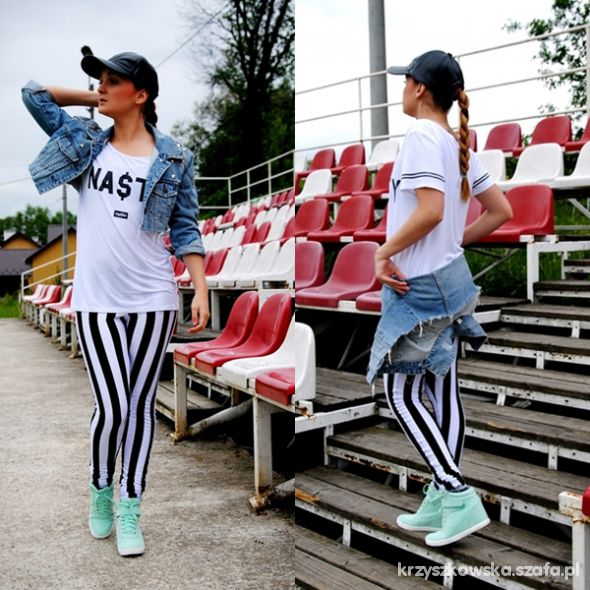 Sportowe stripes & sneakers