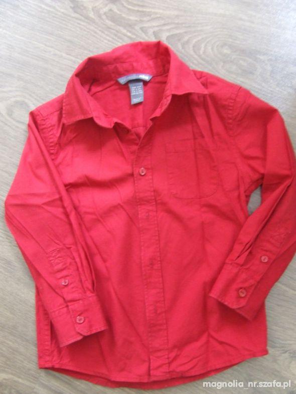 Koszulki, podkoszulki Koszula czerwona H&M
