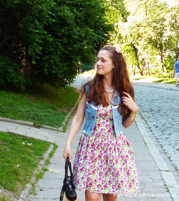 Romantyczne pink dress