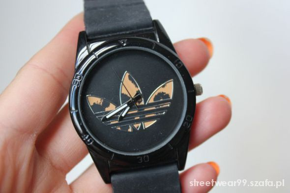 Zegarek Adidas panterka zeberka czarny