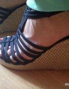 Sandały koturny wedges HandM