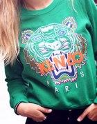 bluza kenzo zielona czarna...
