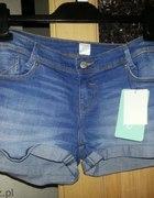 jeans spodenki