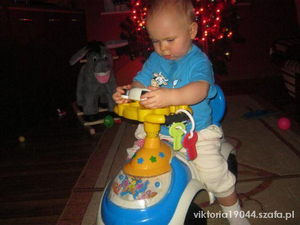 Zabawki jezdzik pchacz auto