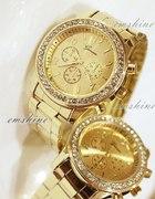 Zegarek złoty Geneva nowy