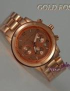 zegarek MICHAEL KORS MK datownik GOLD ROSE