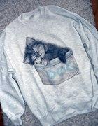 bluza z kotem