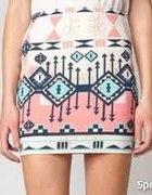 spódniczka aztec