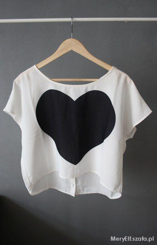 Ubrania Koszulka z sercem