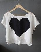 Koszulka z sercem...