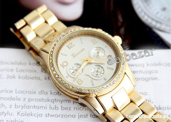 Biżuteria Złoty zegarek MK Geneva