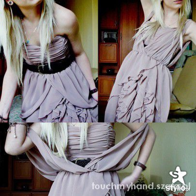 Eleganckie sukienka H&M by Anja Rubik