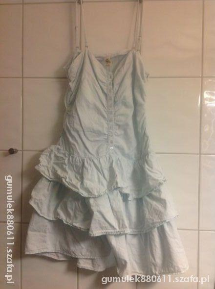 Suknie i sukienki Jeansowa Gina Tricot