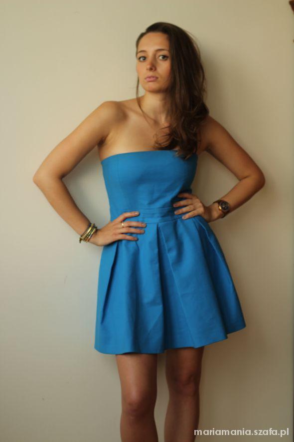 Romantyczne Rozmantyczna sukienka ZARA