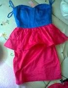 wynalazek z sh sukienka z baskinka
