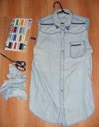 Koszula jeansowa DIY